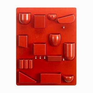 Rote Garderobe von Dorothee Becker für Vitra, 1960er