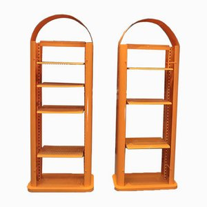 Metal Shelves, 1970s, Set of 2