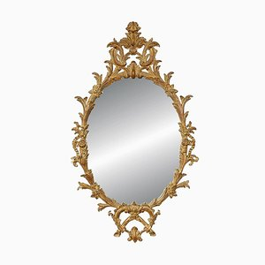 Gold Carved Mirror, 1970s