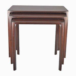 Tavolini ad incastro di Rex Raab per Wilhelm Renz, anni '60