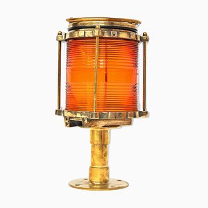 Vintage Russian Boat Table Lamp, 1920s