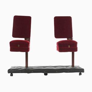 Chaise de Cinéma Rouge, 1970s