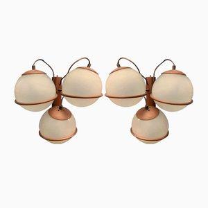 Wandlampen, 1970er, 2er Set