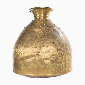 Brass Vase, 1940s