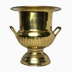 Vintage French Gilt Silver Champagne Cooler, 1950s
