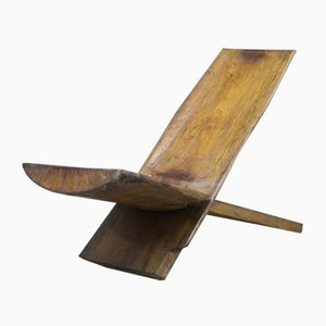 Sillón de madera, años 60
