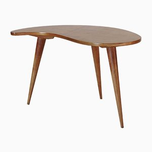 Table Basse en Bouleau, 1950s