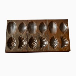 Rustic Chocolate Mold, 1940s