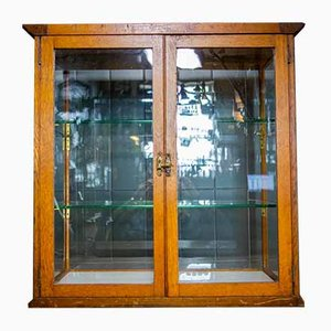 Antique English Counter Display Cabinet