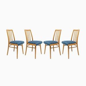 Esszimmerstühle von Jiří Jiroutek, 1960er, 4er Set