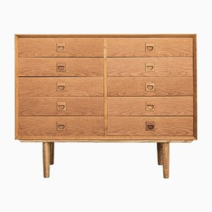 Danish Oak Chest from Brouer, 1960s