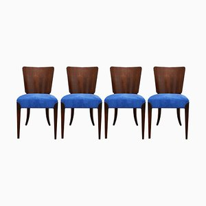 Model H-214 Dining Chairs by Jindřich Halabala, 1950s, Set of 4