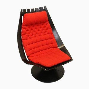Swivel Lounge Chair by Hans Brattrud, 1968