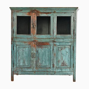 Patinated Wooden Buffet, 1940s