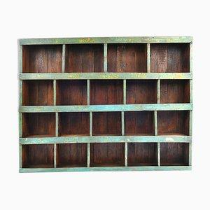 Wooden Workshop Shelf, 1940s