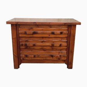 Brutalist Pinewood Dresser, 1960s