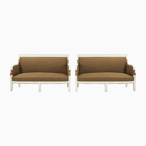 Antique French Sofas, Set of 2
