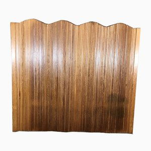Pine Tambour Room Divider by Alvar Aalto, 1969