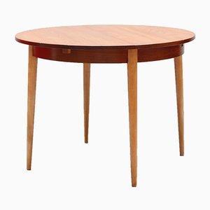 Teak & Oak Extendable Dining Table, 1960s