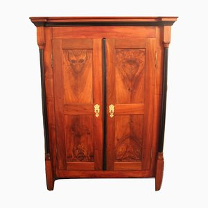 Antique Biedermeier Wardrobe, 1840s