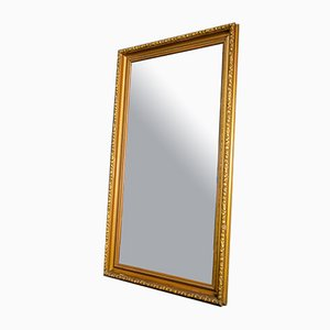 Antique Golden Framed Mirror