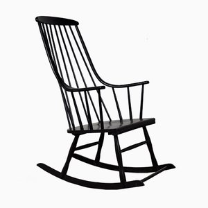 Sedia a dondolo Mid-Century di Lena Larsson per Nesto