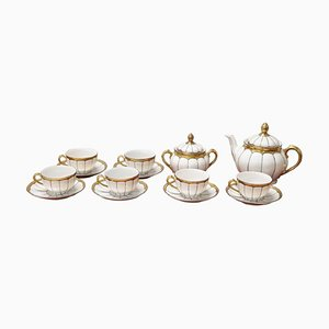 Porcelain Tea Set from Schaller, 1940s, Set of x5