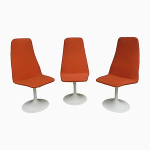 Tulip Swivel Chairs, 1960s, Set of 3