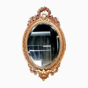 Rococo Napoleon III Gilt Mirror