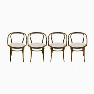 209 Dining Chairs by Michael Thonet for Thonet, 1960s, Set of 4