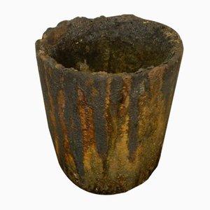 Industrielle italienische Vintage Vase, 1980er