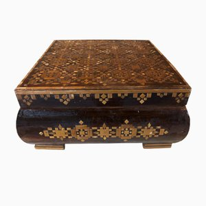 Antique Marquetry Box