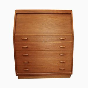 Teak Model SM 20 Secretaire from Dyrlund, 1970s