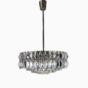 Crystal Pendant Lamp from Bakalowits & Söhne, 1960s