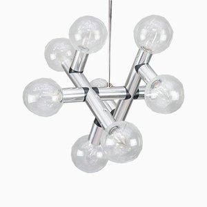 Lámpara de techo Atomic de JT Kalmar, años 60