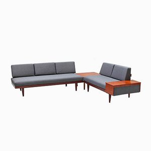 Teak Modular Model Svanette Sofa Set by Haldor Vik & Ingmar Relling for Ekornes, 1960s