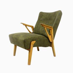 Mid-Century Armlehnstuhl aus Eschenholz, 1960er