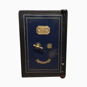 Antique Victorian Cast Iron Safe from Thomas Hudson of Manchester