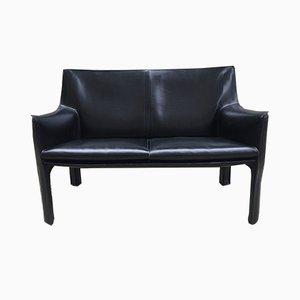 Modell CAB 415 2-Sitzer Sofa von Mario Bellini für Cassina, 1980er