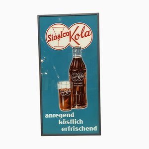 Vintage Sinalco Kola Advertising Sign, 1950s