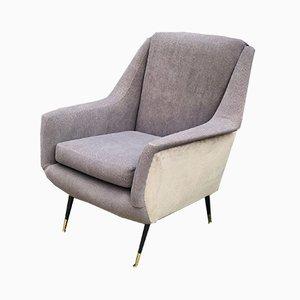 Large Mid-Century Italian Armchair, 1950s