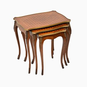 Vintage French Nesting Tables, 1920s