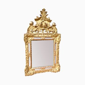 Antique Giltwood Mercury Mirror