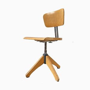 Mid-Century Model 350R Adjustable Swivel Chair from Ama Elastik