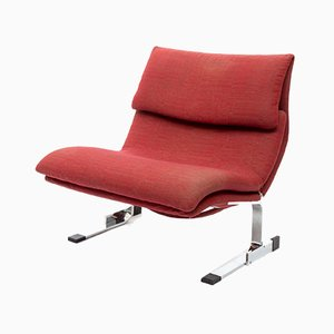Model Onda Lounge Chair by Giovanni Offredi for Saporiti Italia, 1970s
