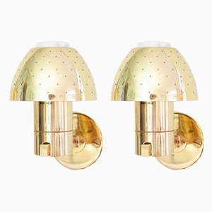 Swedish Model V306/1 Sconces from Hans-Agne Jakobsson AB Markaryd, 1960s, Set of 2