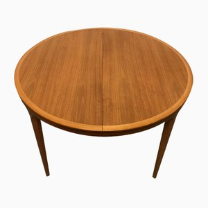 Teak Dining Table by Severin Hansen for Haslev Møbelsnedkeri, 1950s