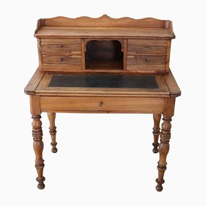 Antique Walnut Desk, 1850s