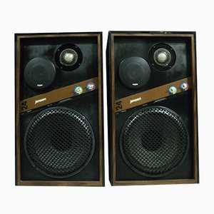Model OPC-24 Loudspeakers from Jensen, 1974, Set of 2