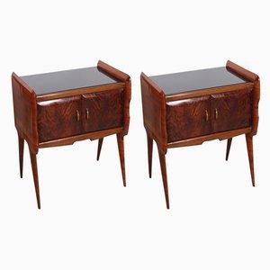 Tables de Chevet, années 60, Set de 2